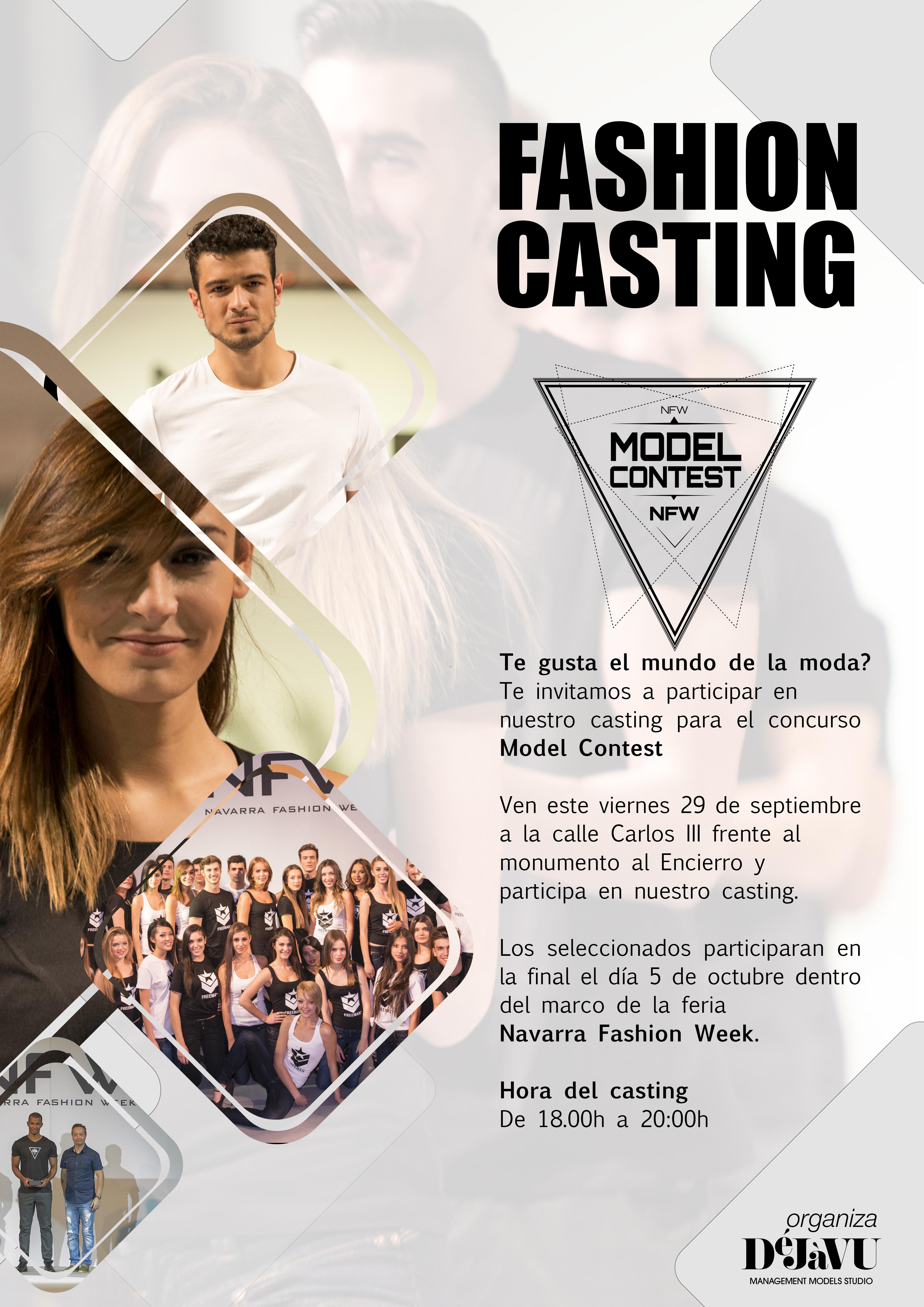 castin model contest